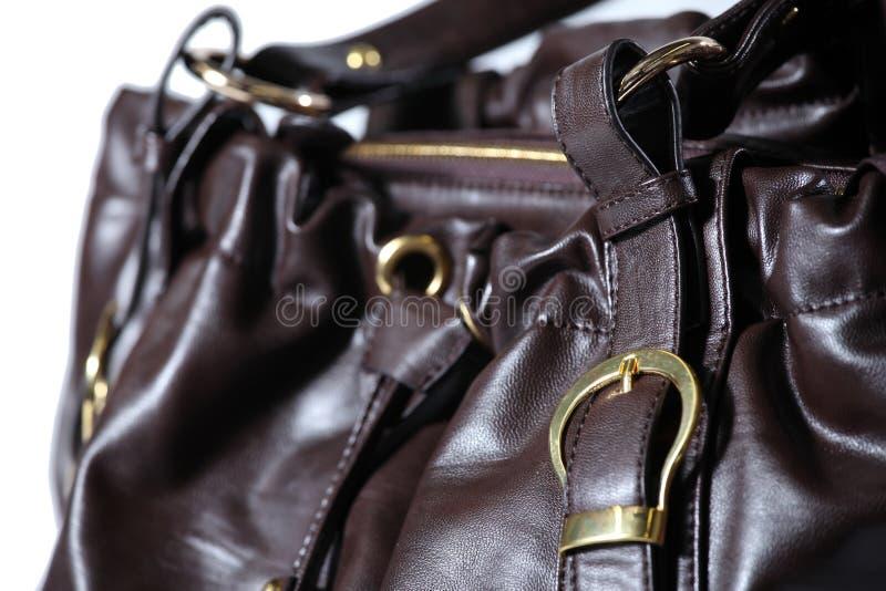 袋子现有量豪华钱包 库存照片