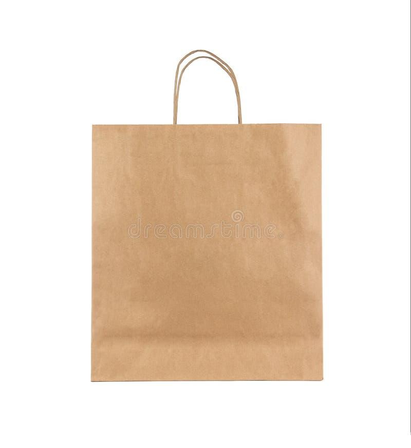 袋子白纸 免版税库存照片