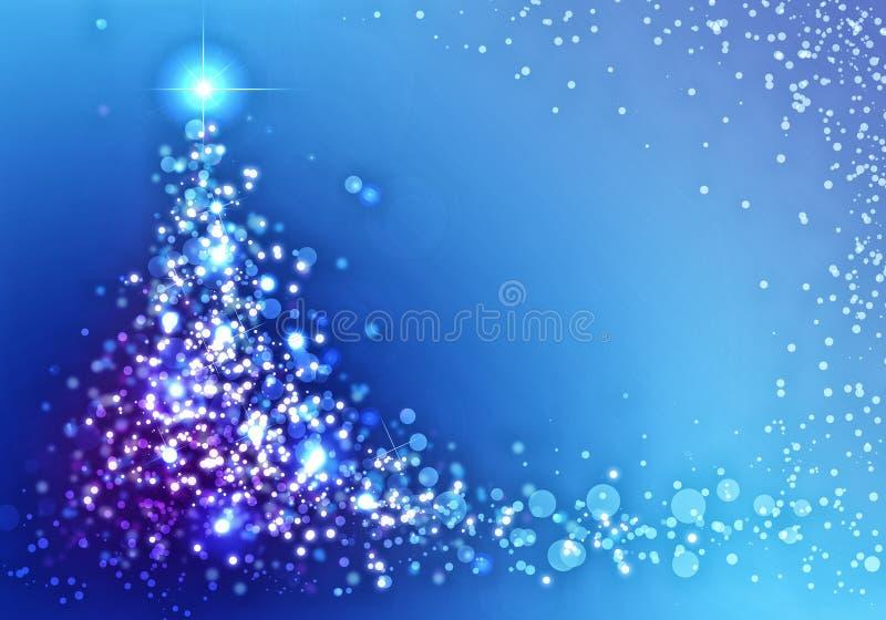 袋子看板卡圣诞节霜klaus ・圣诞老人天空 皇族释放例证