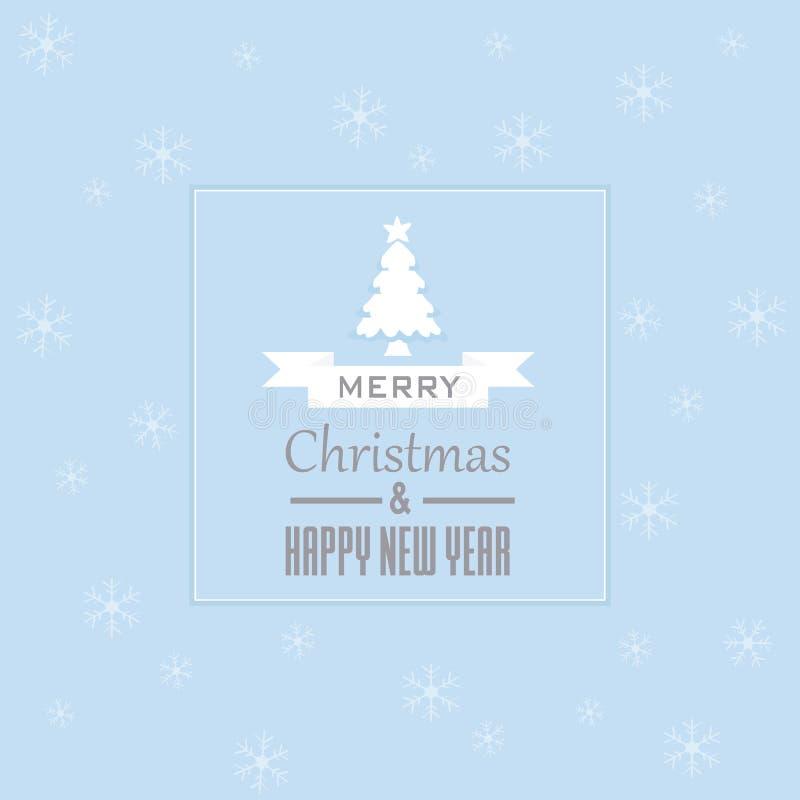 袋子看板卡圣诞节霜klaus ・圣诞老人天空 库存例证