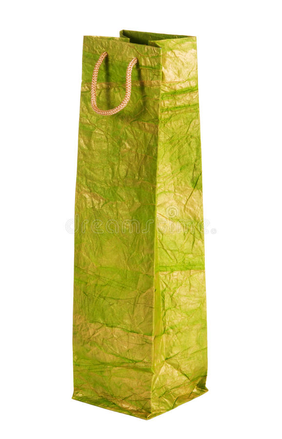 袋子礼品绿色 图库摄影