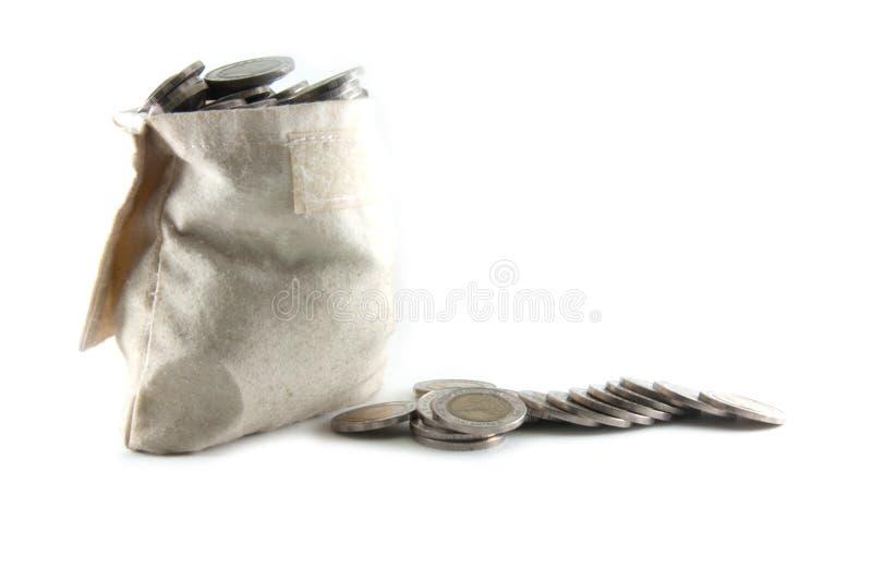 袋子粗麻布 免版税库存图片