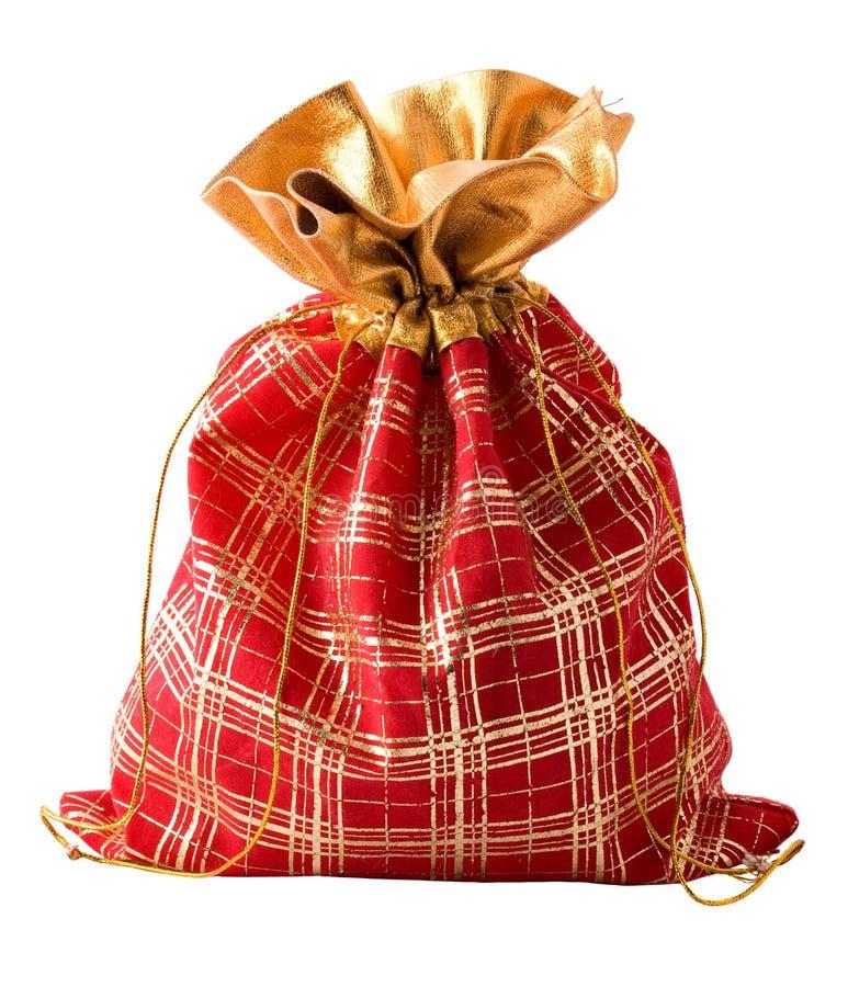 袋子红色小 库存照片
