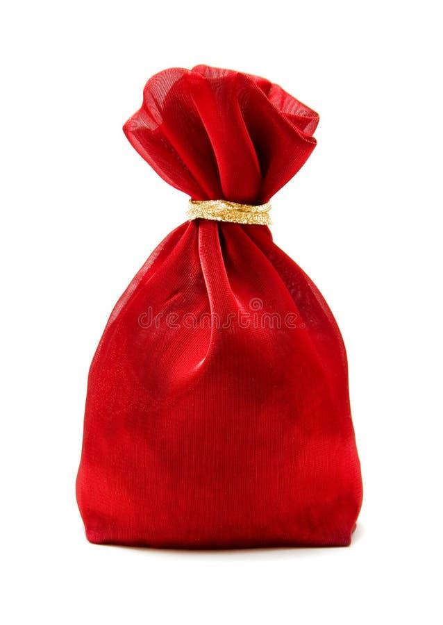 袋子红色 库存照片