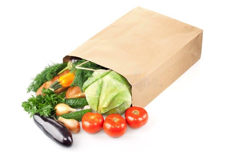 袋子纸产品 免版税库存照片
