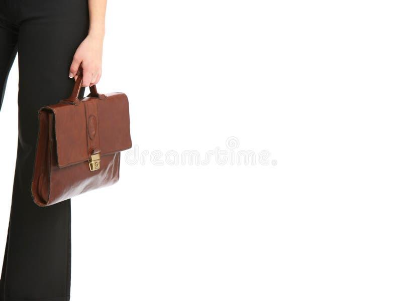 袋子藏品妇女 免版税库存照片