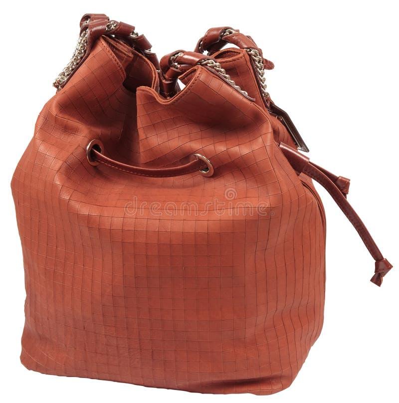 袋子褐色 免版税库存照片
