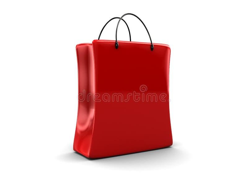 袋子购物 库存例证