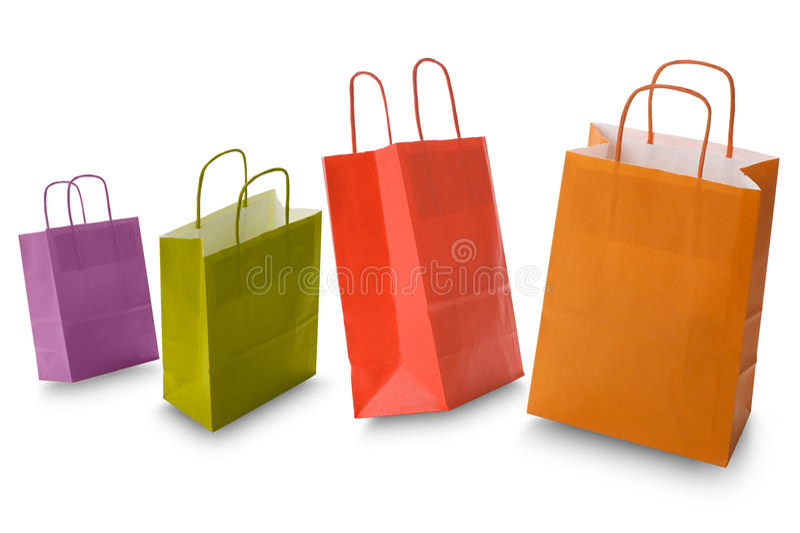 袋子购物 库存图片