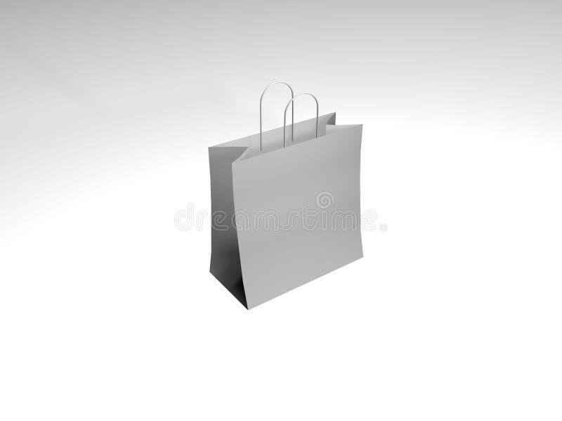 袋子购物 皇族释放例证