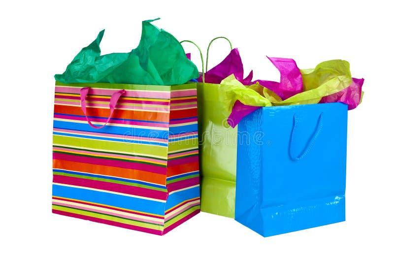 袋子购物 免版税库存图片