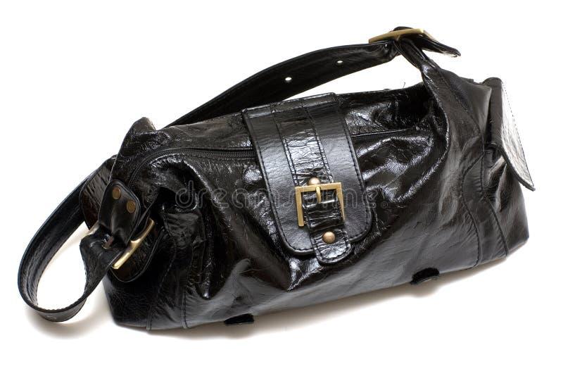 袋子黑人女性 免版税库存图片