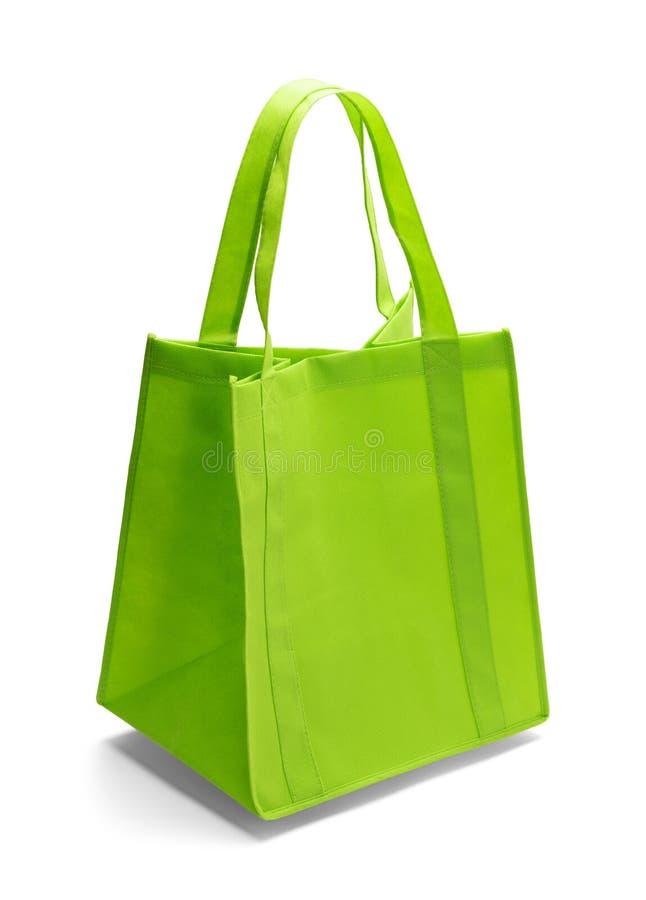 袋子绿色购物 免版税库存照片