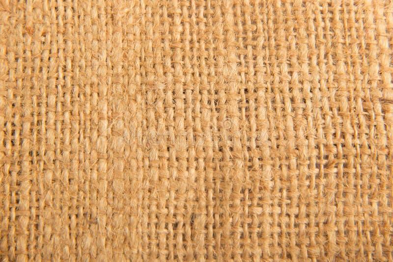 麻袋布 免版税库存照片