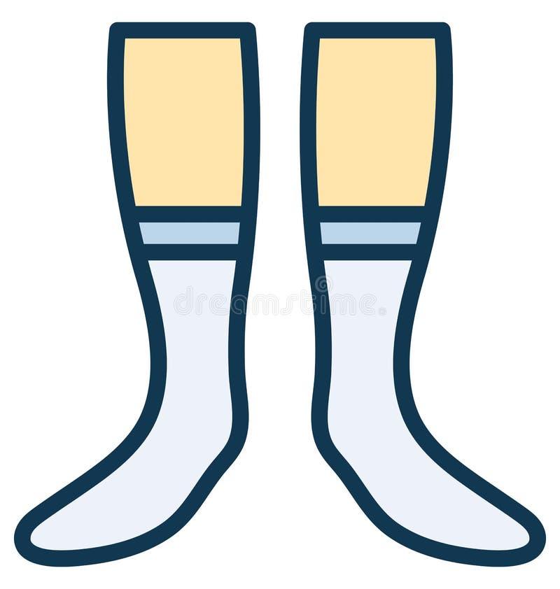 袜子,可以容易地修改或编辑的内衣传染媒介 皇族释放例证