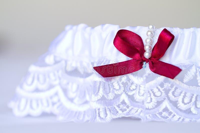袜带婚礼 图库摄影