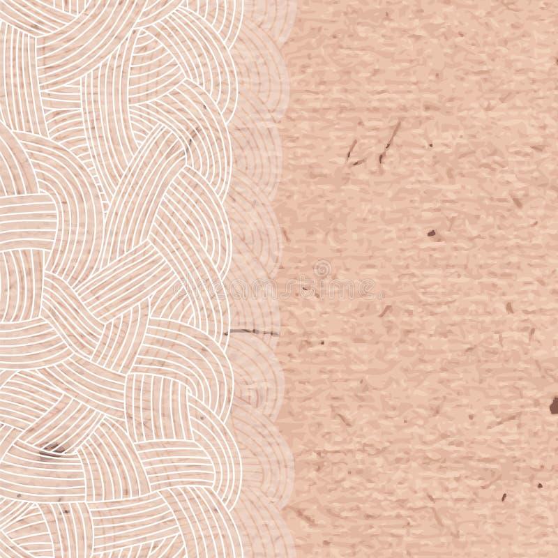 被交织的子线抽象背景  皇族释放例证