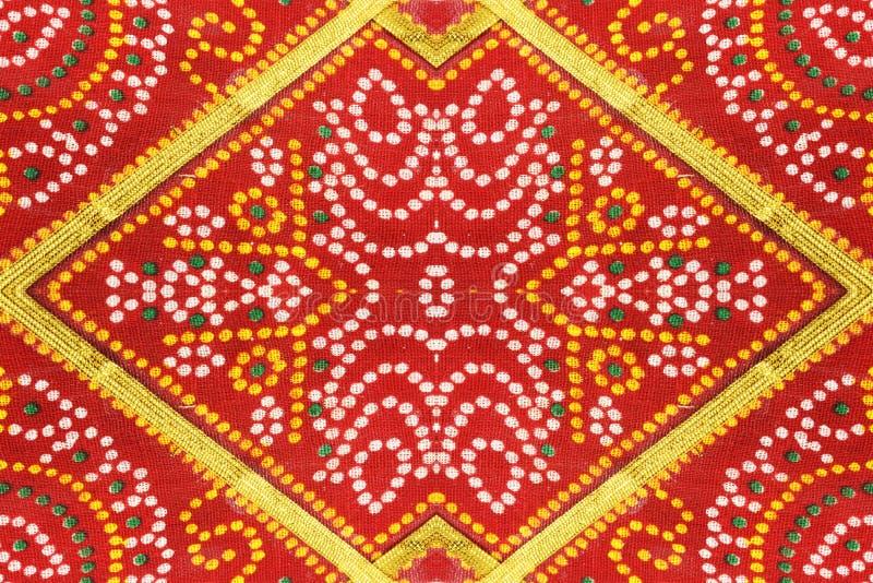 被仿造的背景五颜六色的织品 图库摄影