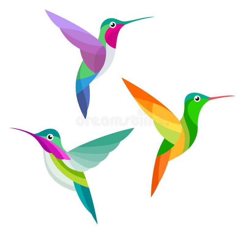 被传统化的鸟 向量例证