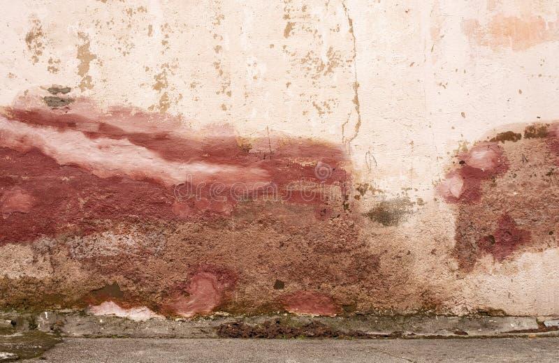 被修补的墙壁 免版税库存照片