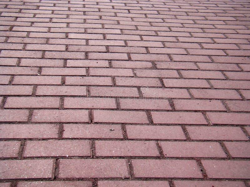 被修补的路面道路 道路铺与灰色砖 库存图片
