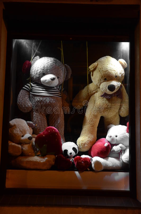 被充塞的熊 免版税库存图片