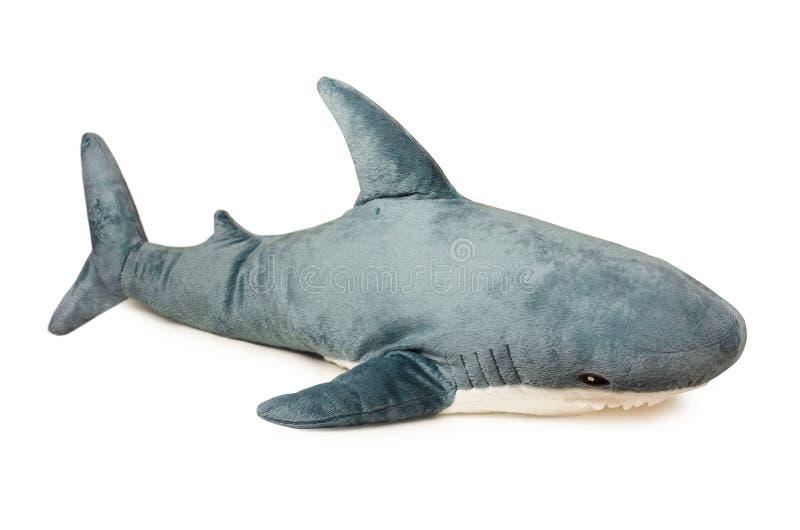被充塞的玩具普遍的鲨鱼 免版税库存图片