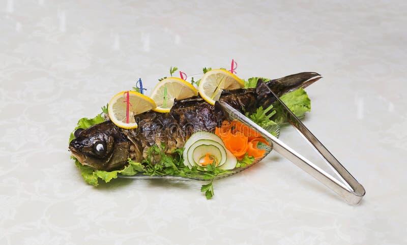 被充塞的鱼 免版税库存图片