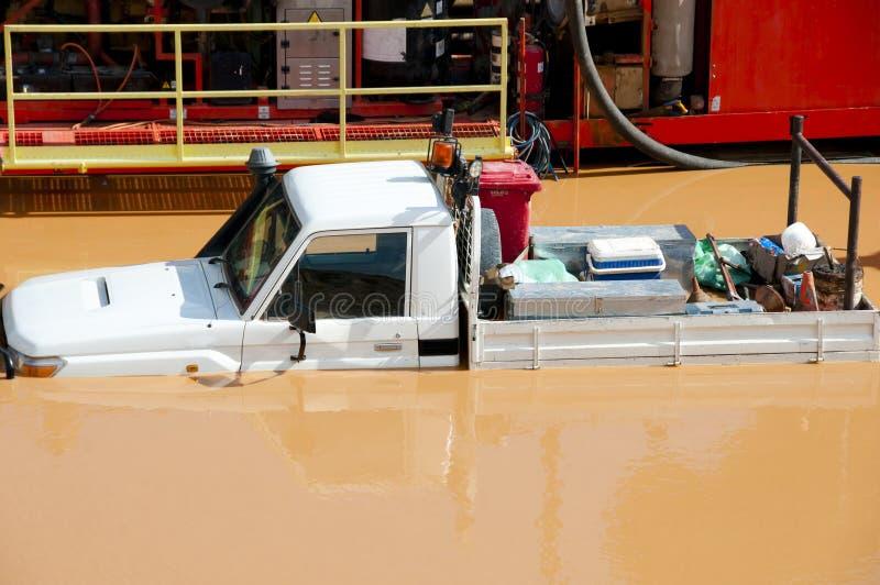 被充斥的卡车 免版税库存图片