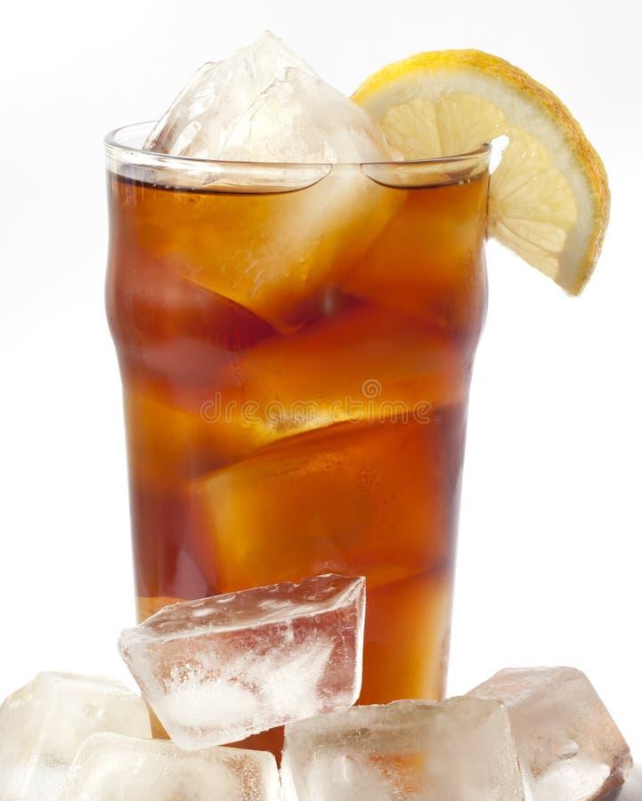 被冰的茶 库存图片