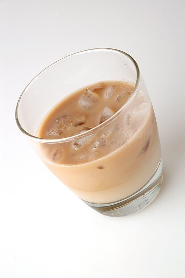 被冰的鸡尾酒咖啡 免版税库存图片