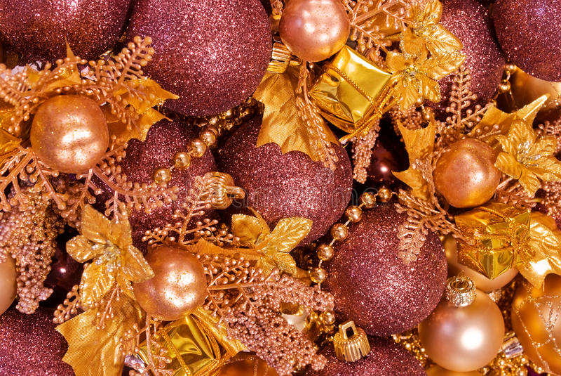 被分类的中看不中用的物品圣诞节装&# 库存图片