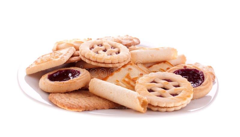 被分类的曲奇饼 库存图片