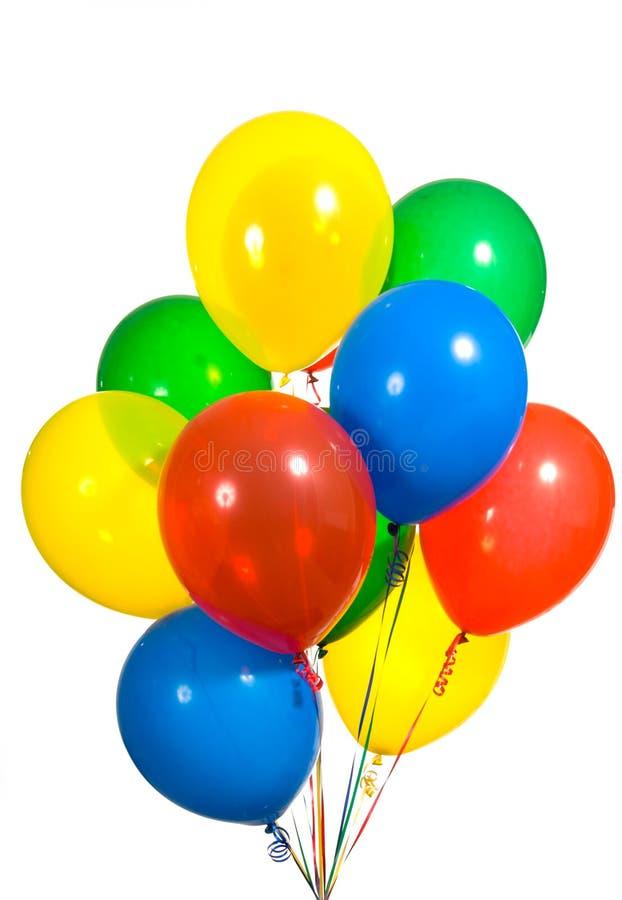 被分类的气球 免版税库存图片