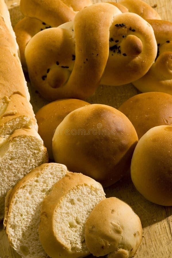 被分类的面包 免版税库存图片