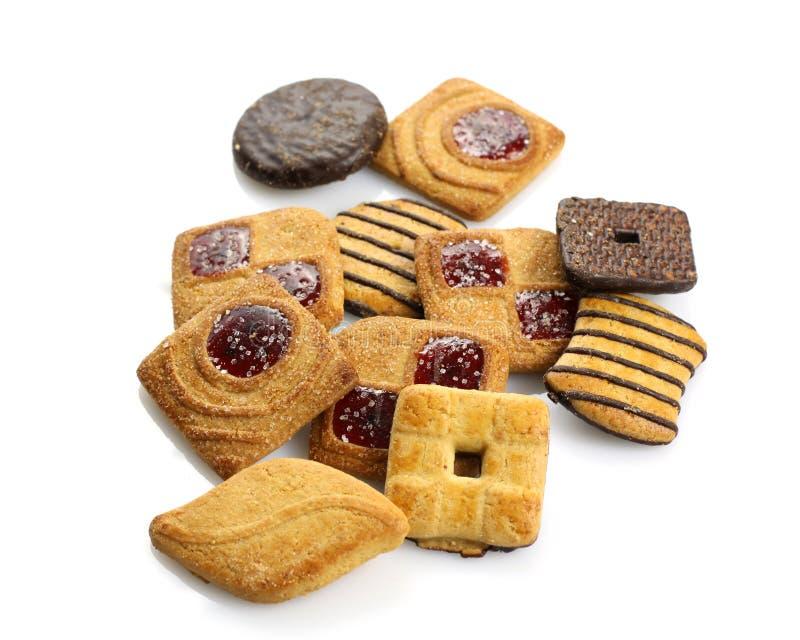 被分类的饼干 免版税库存照片
