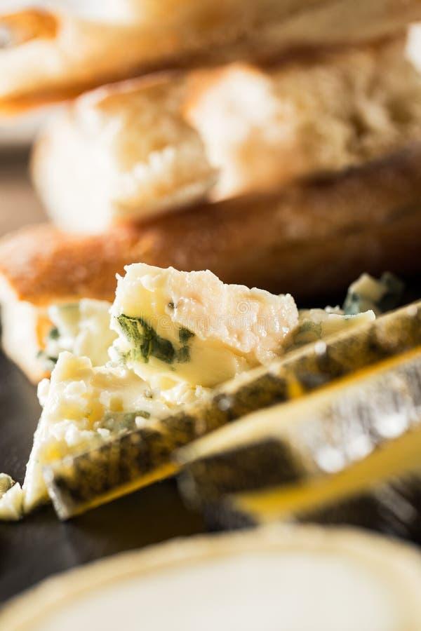 被分类的干酪 免版税库存图片