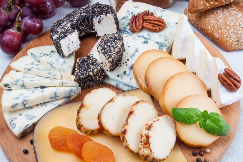 被分类的干酪 免版税图库摄影