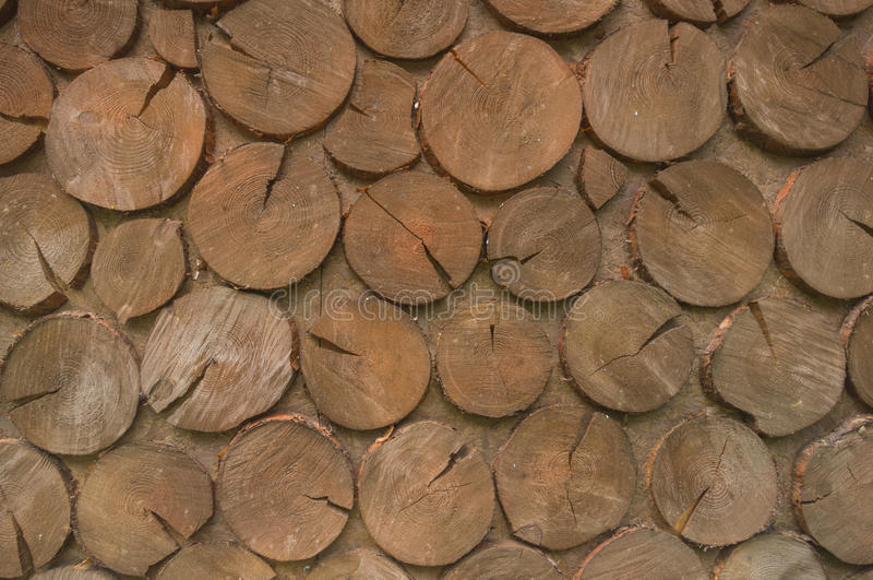 被切的†‹â€ ‹木头表面盘旋 免版税图库摄影