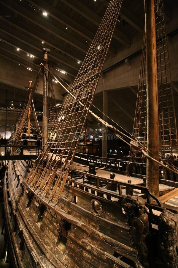 被制造从1626到1628的瑞典军舰 免版税图库摄影