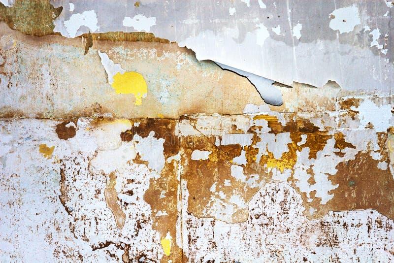 被剥离的墙壁摘要 免版税库存图片