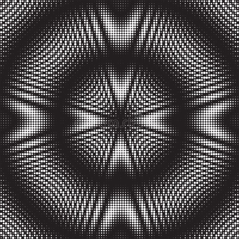 被加点的半音传染媒介样式或纹理 库存例证