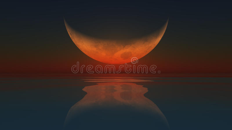 被反射的月亮