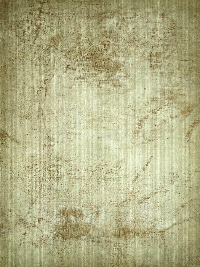 被取笑的破裂的羊皮纸膏药 免版税图库摄影