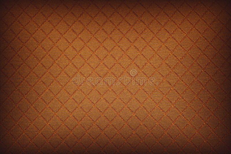 被召集的背景抽象橙色蜂窝 免版税库存图片