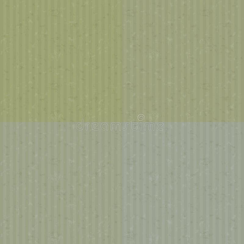 被回收的纸板纹理集合 向量例证