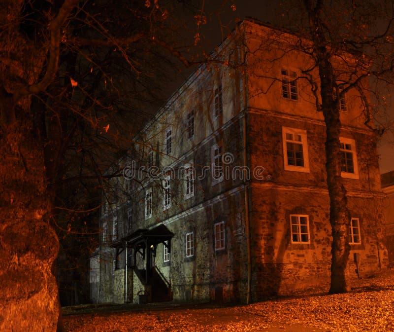 被困扰的城堡 免版税库存照片