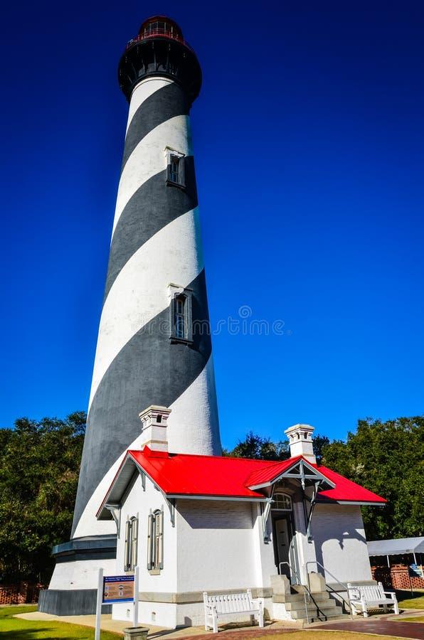 被困扰的灯塔-圣奥斯丁,佛罗里达 免版税图库摄影