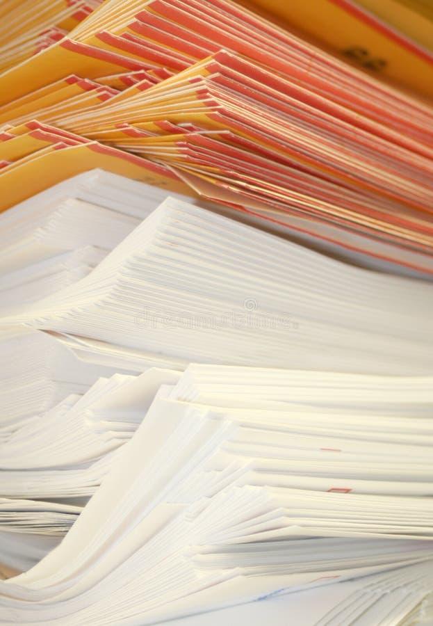 被堆积的信包 免版税库存照片