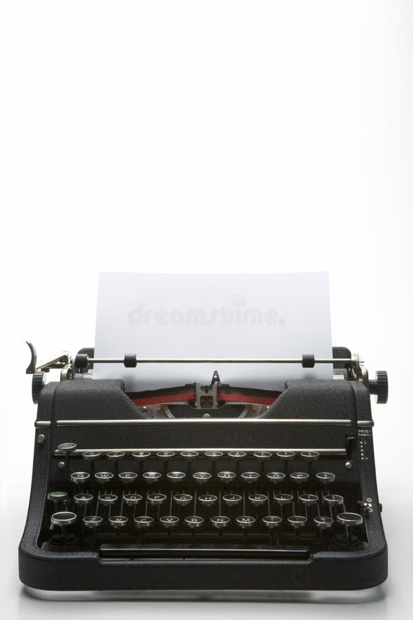 被塑造的老射击工作室打字机 库存图片